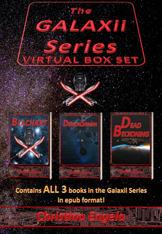 Now Available: The Galaxii Series Virtual Box Set!