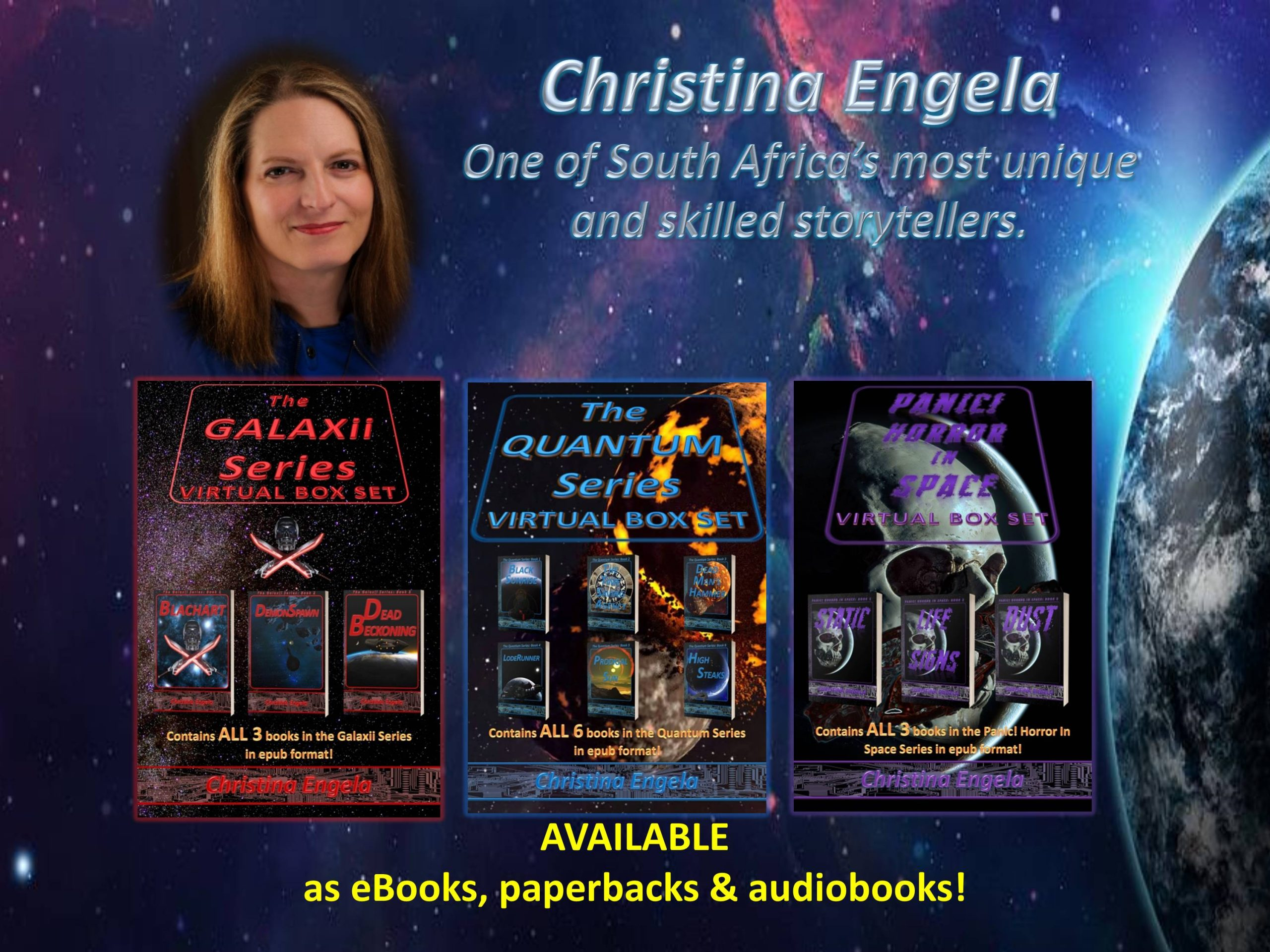 South African female sci-fi